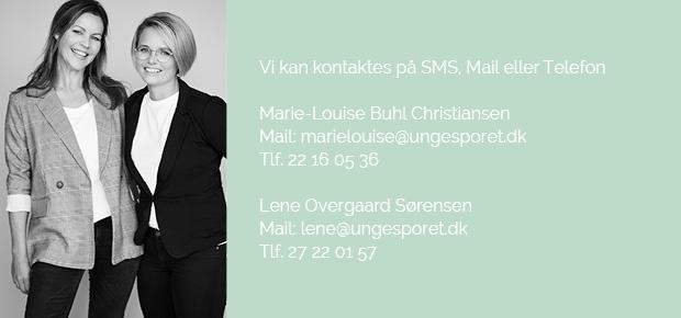 Marie-Louise Buhl Christiansen og Lene Overgaard Sørensen - UngeSporet